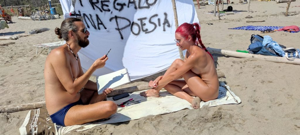bodypainting poetry